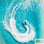 Virtual tourism: LA, Maldives livestream twilight calm